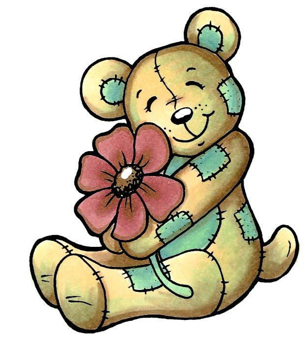 Cute bear april clipart png freeuse library 1000+ images about teddy bear tags and printables on Pinterest ... png freeuse library