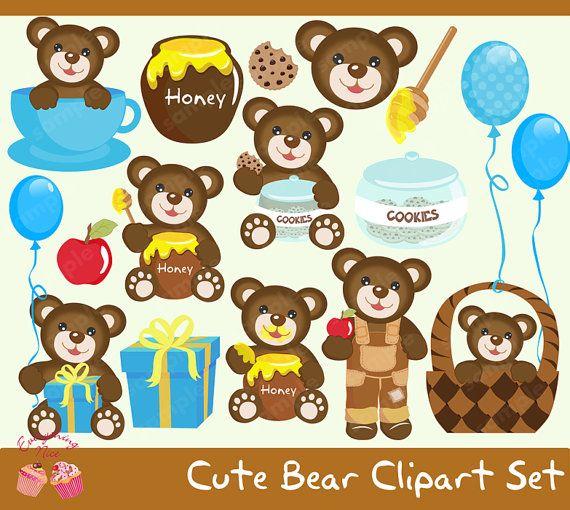 Cute bear april clipart jpg royalty free 17 Best ideas about Bear Clipart on Pinterest | Teddy bear drawing ... jpg royalty free