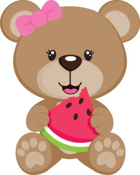 Cute bear clipart jpeg png free stock Cute Clipart ❤ SUMMER TEDDY BEAR CLIP ART | baby and kids art ... png free stock