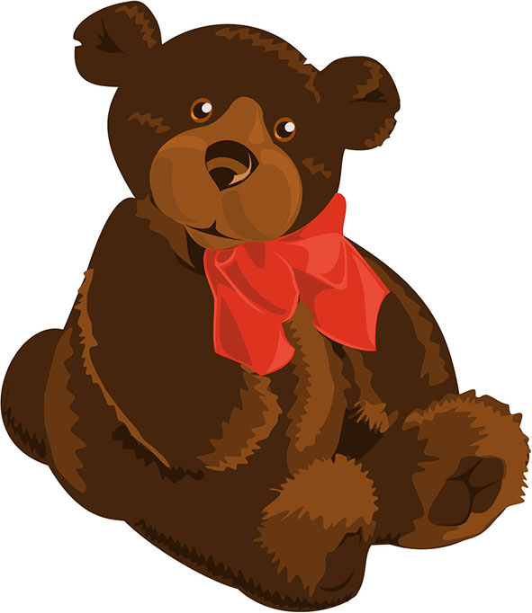Cute bear clipart jpeg vector royalty free stock Cute Teddy Bear Clipart vector royalty free stock