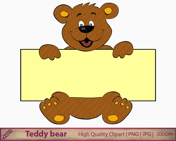 Cute bear clipart jpeg clip art transparent download Bear banner clipart teddy bear clip art cute bear cartoon clip art transparent download