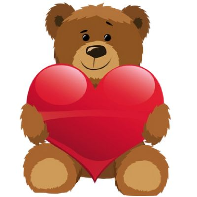 Cute bear clipart jpeg graphic transparent download Bears With Love Hearts Cartoon Clip Art - Bears Cartoon Clip Art ... graphic transparent download