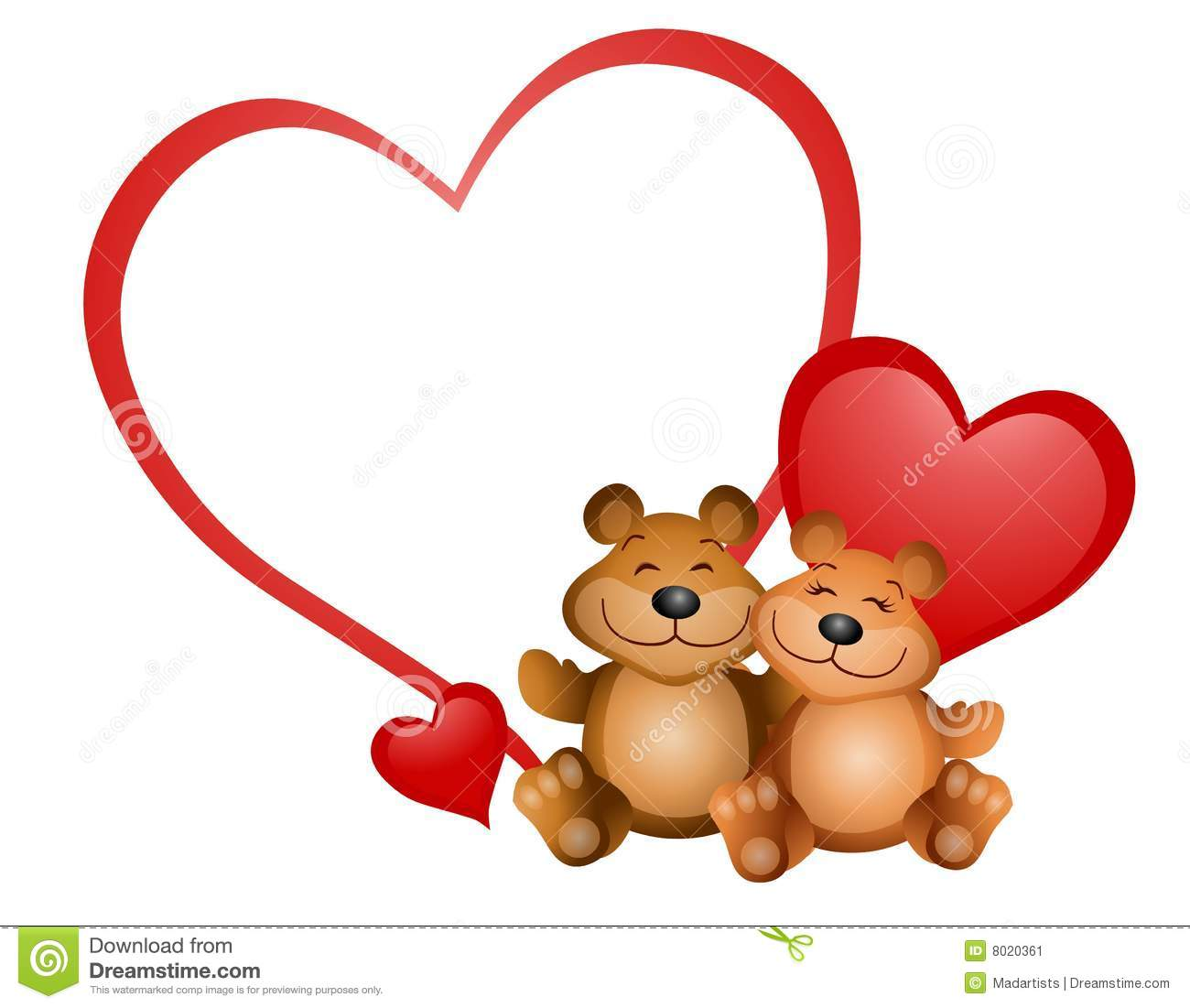 Cute Valentine Bear Clipart - Clipart Kid graphic freeuse