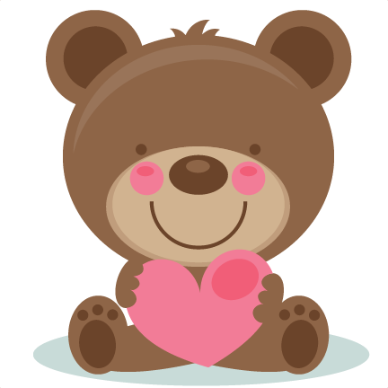 Cute bear valentine clipart image royalty free stock Cute Valentine Bear Clipart - Clipart Kid image royalty free stock