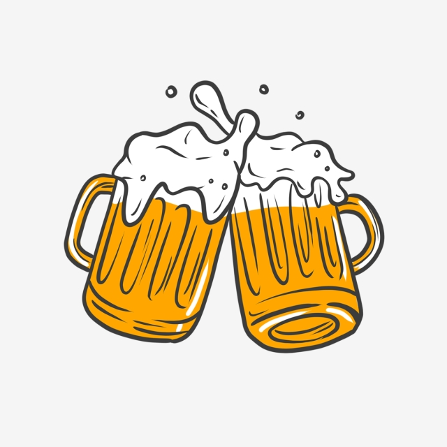 Cute beer clipart clip art library library Hand Drawn Cute Beer, Alcohol, Craft Beer, Cute PNG ... clip art library library