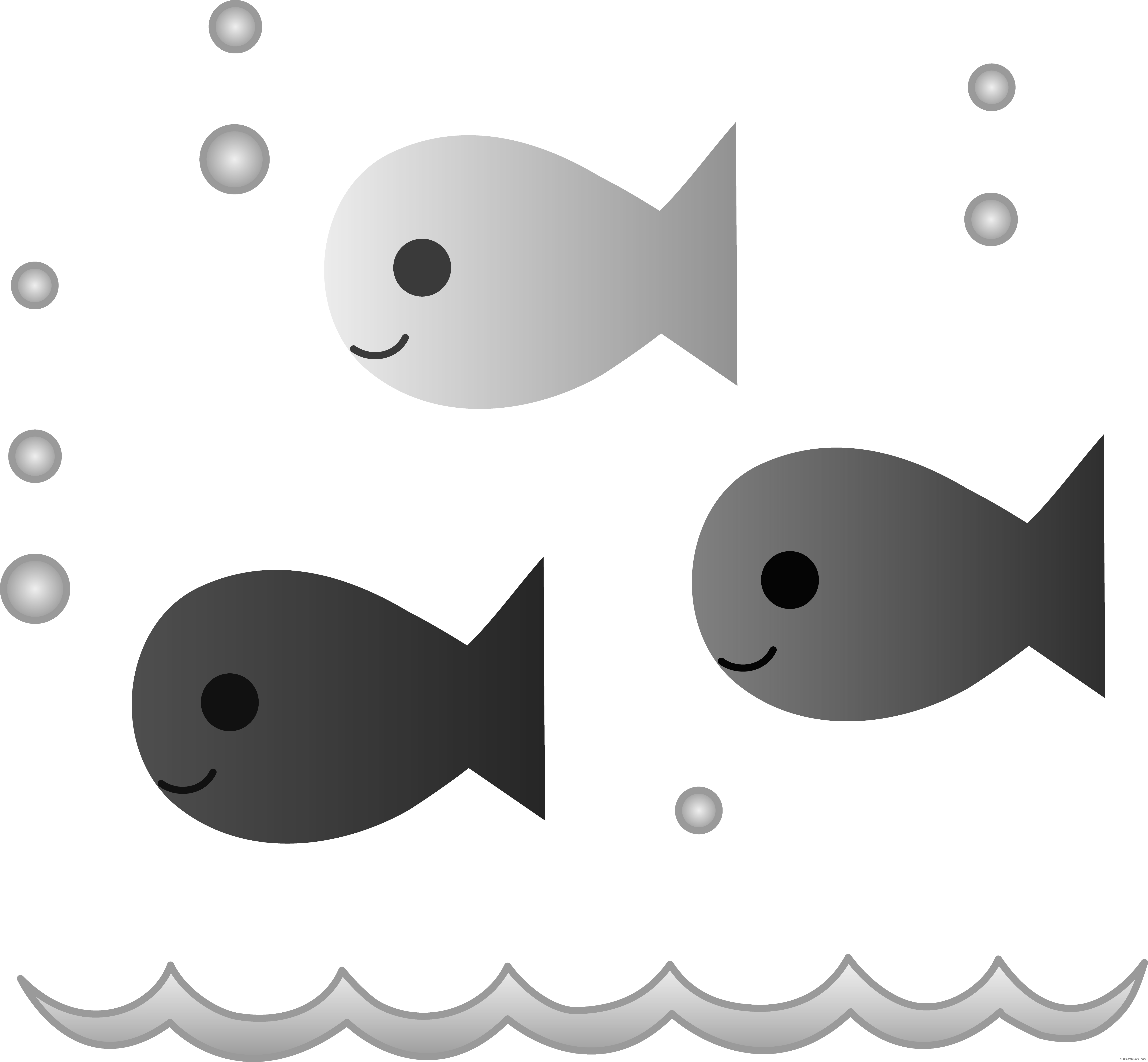 Fish with bubbles clipart png library download Fish - Page 38 of 56 - ClipartBlack.com png library download