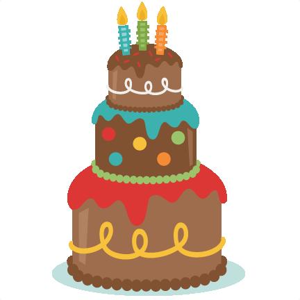 Cute birthday cake clipart clip art free library Cute cake clipart - ClipartFest clip art free library