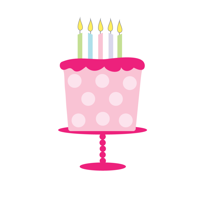 Cute birthday cake clipart clipart freeuse library Girly birthday cake clipart - ClipartFox clipart freeuse library