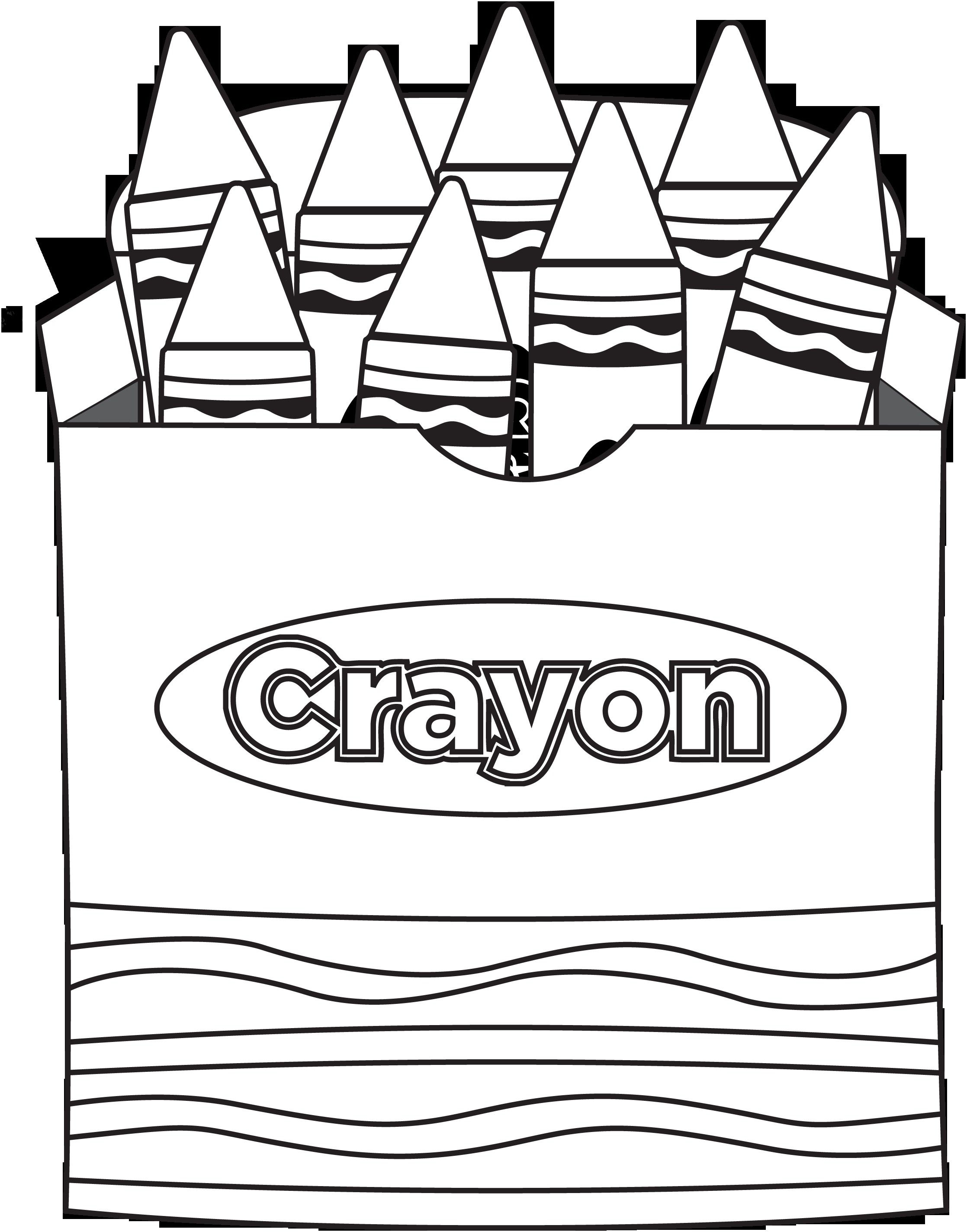Pin by Zyann Coleman on Crayola creations | School coloring ... jpg library download