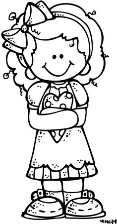 Cute black and white little girl clipart graphic royalty free stock Free White Girl Cliparts, Download Free Clip Art, Free Clip ... graphic royalty free stock