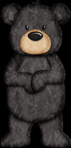 Cute black bear clipart clip art free library Pin by Lora Drum on Clipart | Bear clipart, Bear crafts, Bear art clip art free library
