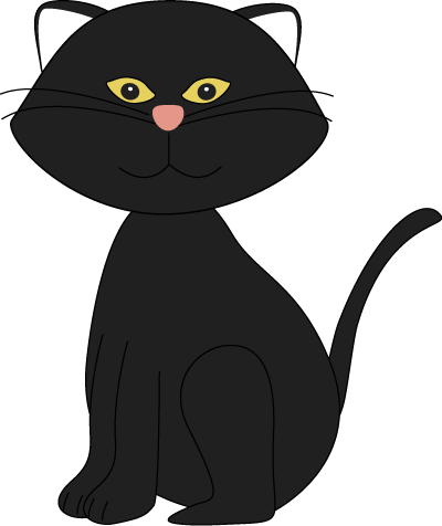 Cute black cat with green eyes clipart svg library download Free Black Cat Clipart, Download Free Clip Art, Free Clip Art on ... svg library download