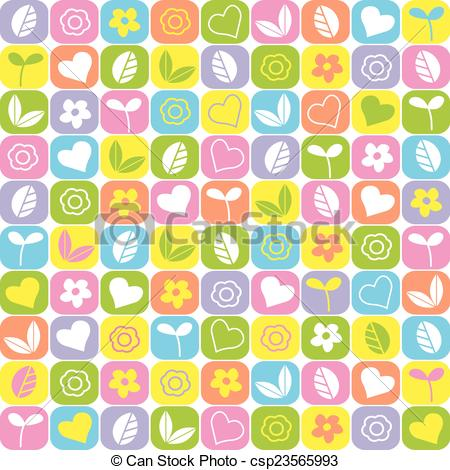 Cute block clipart. Eps vectors of background