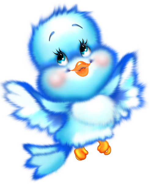 Cute Blue Bird Cartoon Free Clipart | Painting ideas and patterns ... jpg royalty free stock