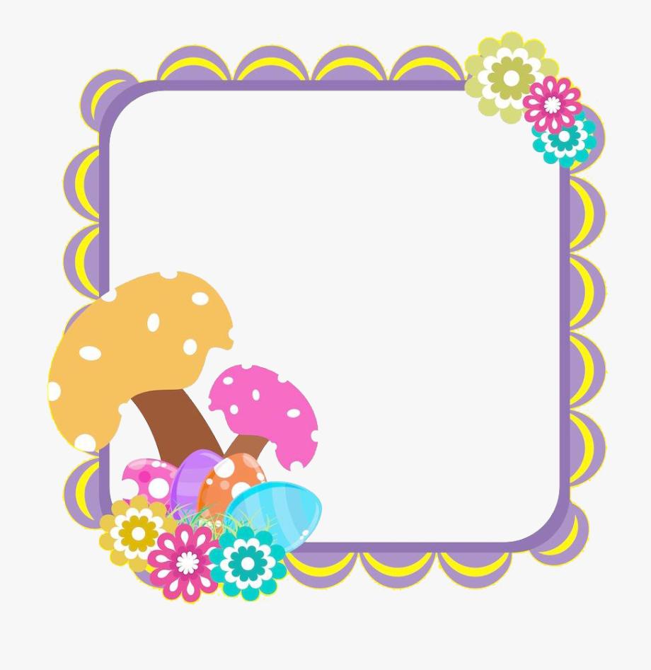 Cute border clipart graphic free download Cute Border Cliparts - Transparent Colorful Cute Border #119586 ... graphic free download