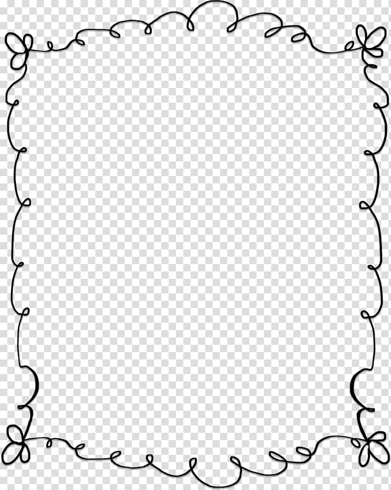 Cute border clipart clipart royalty free stock Black frame illustration, Microsoft Word , cute border transparent ... clipart royalty free stock