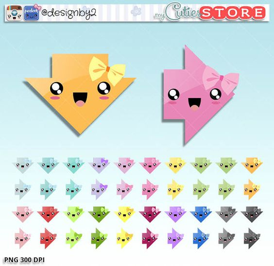 Cute bow arrow jpg clipart clip library download Graphics, Kawaii and Bows on Pinterest clip library download