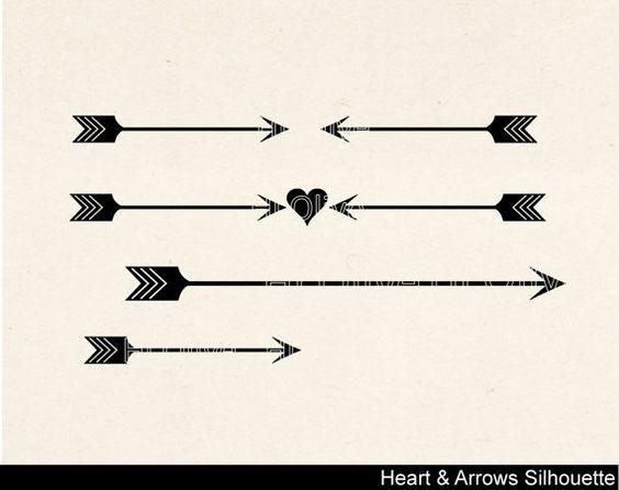 Cute bow arrow jpg clipart vector transparent library Cute arrow heart clipart - ClipartFox vector transparent library