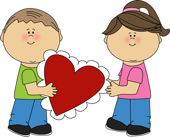 Cute boy valentine clipart graphic stock Cute valentines day party kid party banner clipart - ClipartFest graphic stock