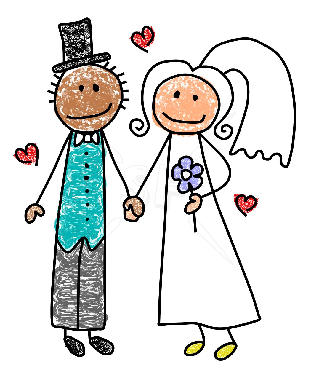 Groom stick figure clipart black and white image library download Bride And Groom Clipart Black And White | Free download best ... image library download