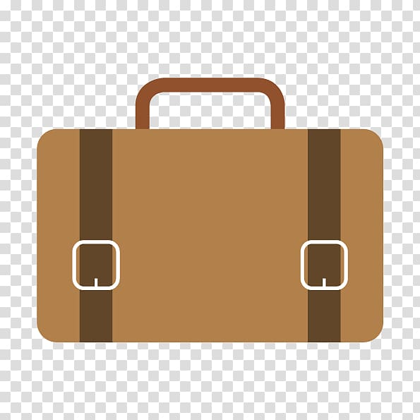 Cute briefcase of money clipart for kids stock Laptop Briefcase Bag Icon, cartoon bag flat transparent background ... stock