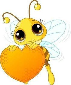 Bee sitting in the. Cute bumbblebee valentine clipart