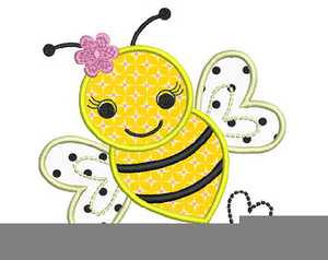 Bumble bee clipart vector graphic free library Cute Bumblebee Clipart Free | Free Images at Clker.com ... graphic free library
