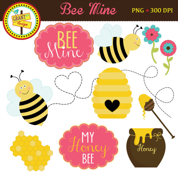 Cute bumblebee valentine clipart banner transparent Cute Bee With Trail Clipart - Clipart Kid banner transparent