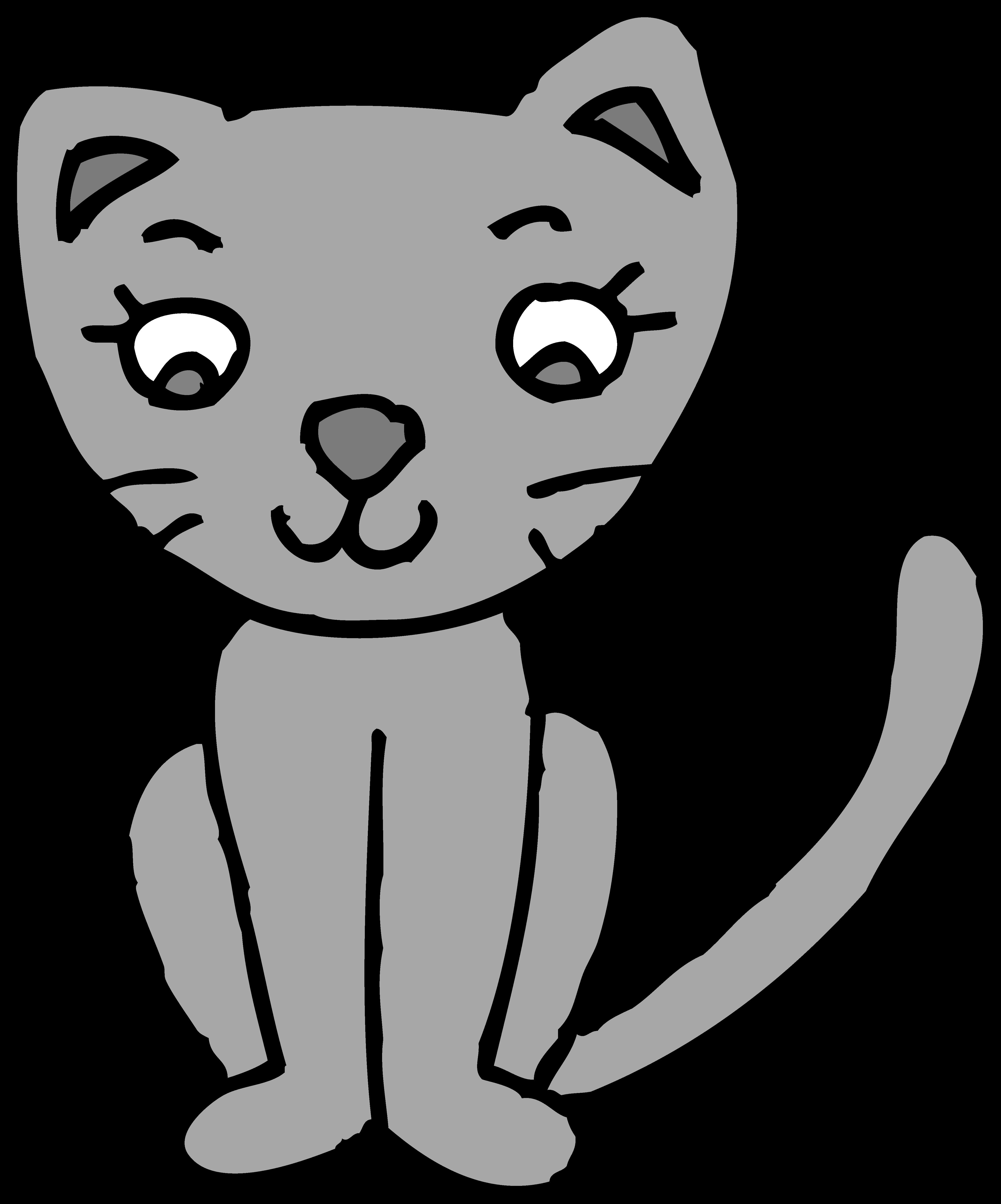 Cute cat clipart free clip art library download Cute Cat Clipart - Page 3 of 5 - ClipartBlack.com clip art library download