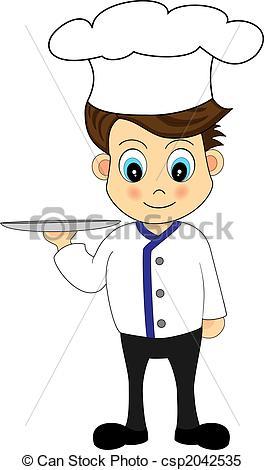 Cute chef clipart picture black and white Cute chef clipart - ClipartFox picture black and white