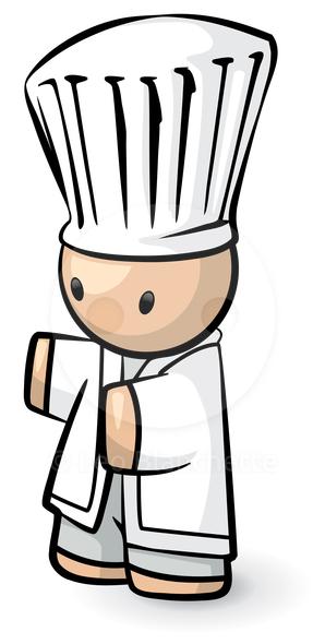Cute chef clipart vector stock Cute Chef Clipart - Clipart Kid vector stock