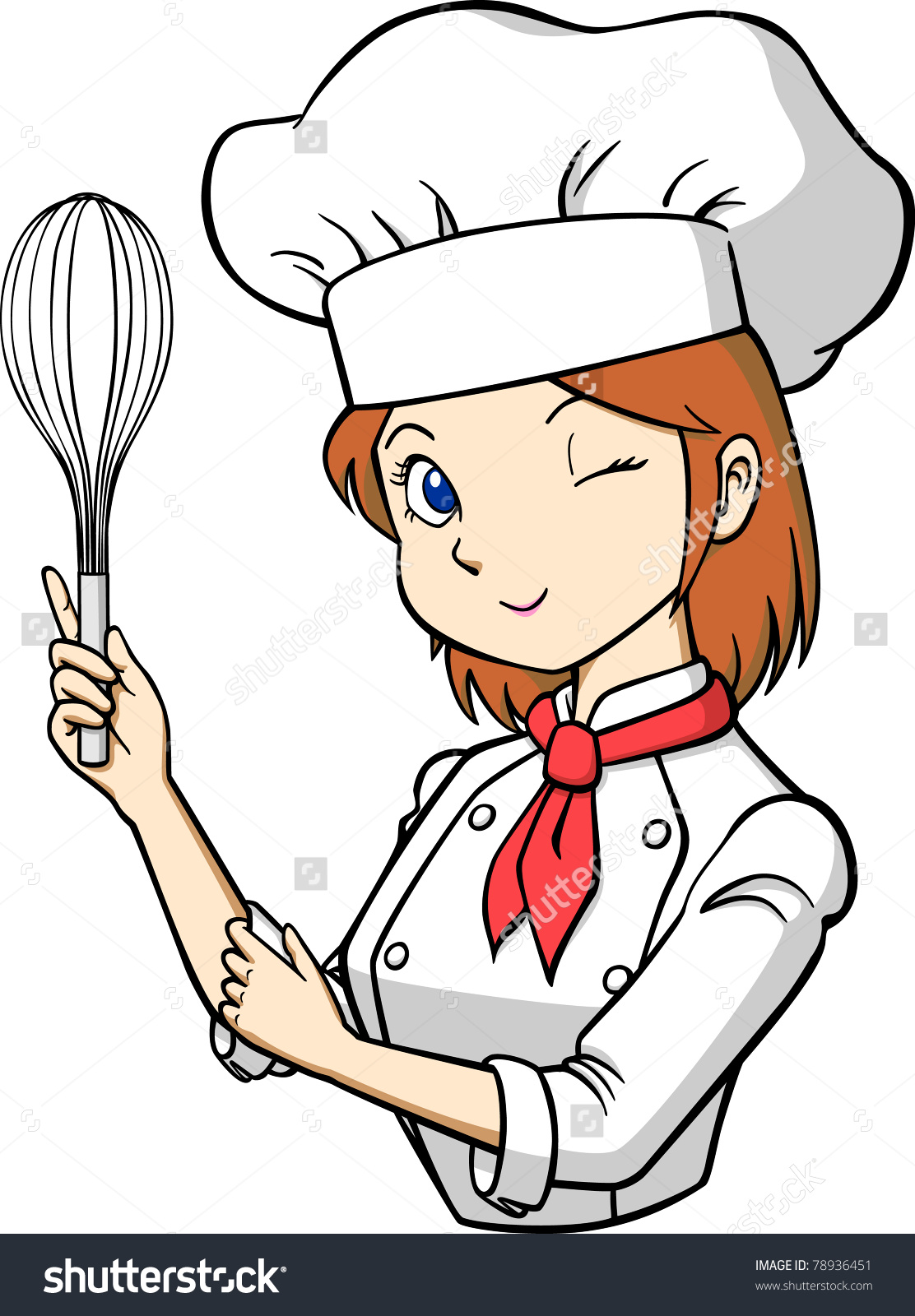 Cute chef woman clipart freeuse stock Clipart woman chef - ClipartFest freeuse stock