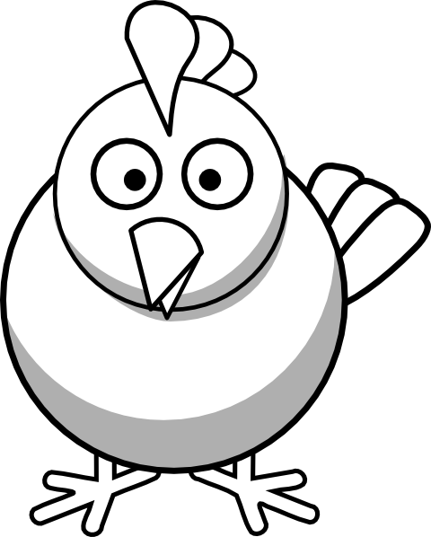 Cute chicken clipart black and white picture freeuse Vintage chicken clipart black and white free 3 - ClipartBarn picture freeuse