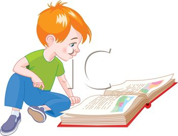 Cute childrens storybook clipart
