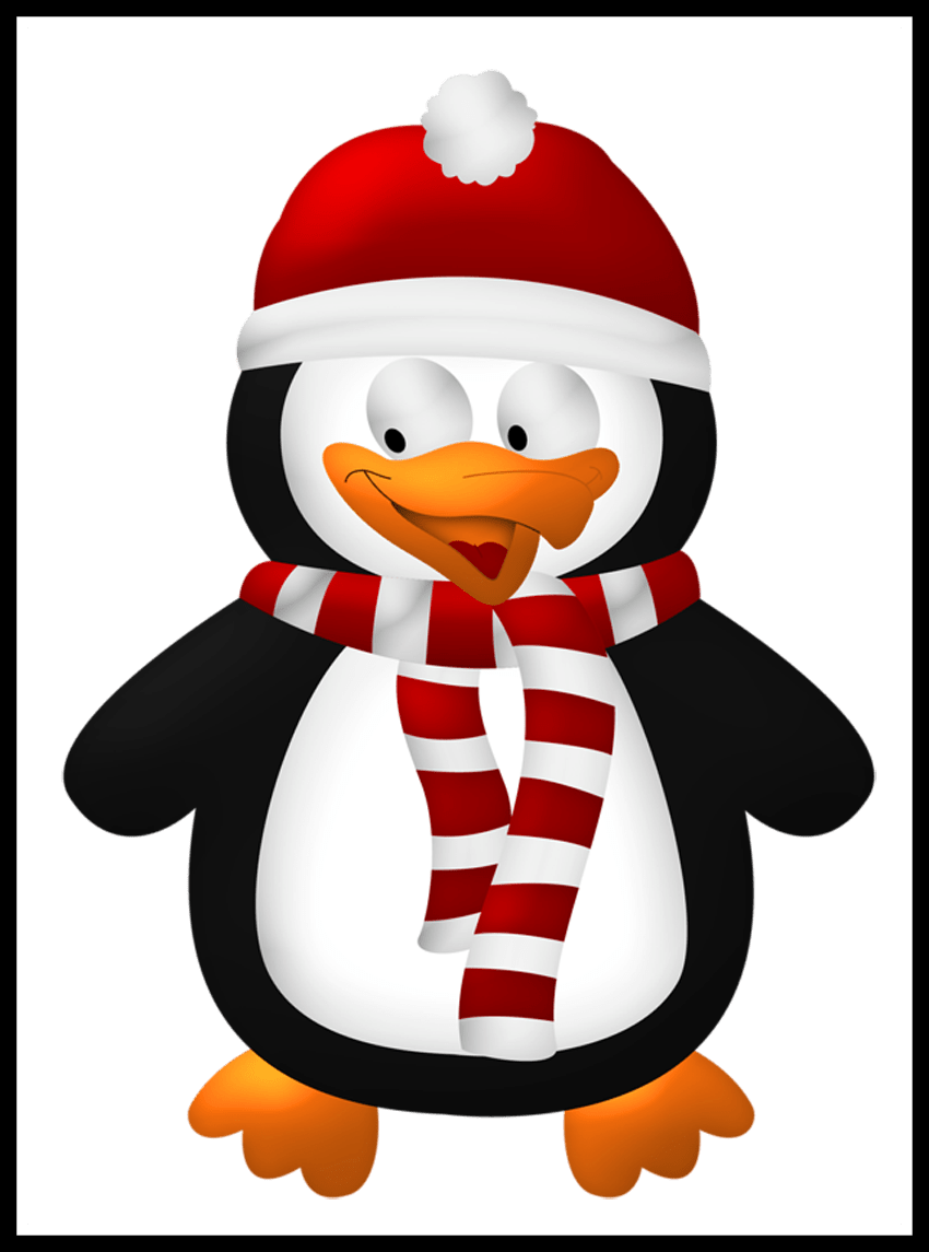 Cute christmas clipart free png royalty free download Best Christmas Clipart Pic Of Penguin Ideas And Trend Penguin ... png royalty free download