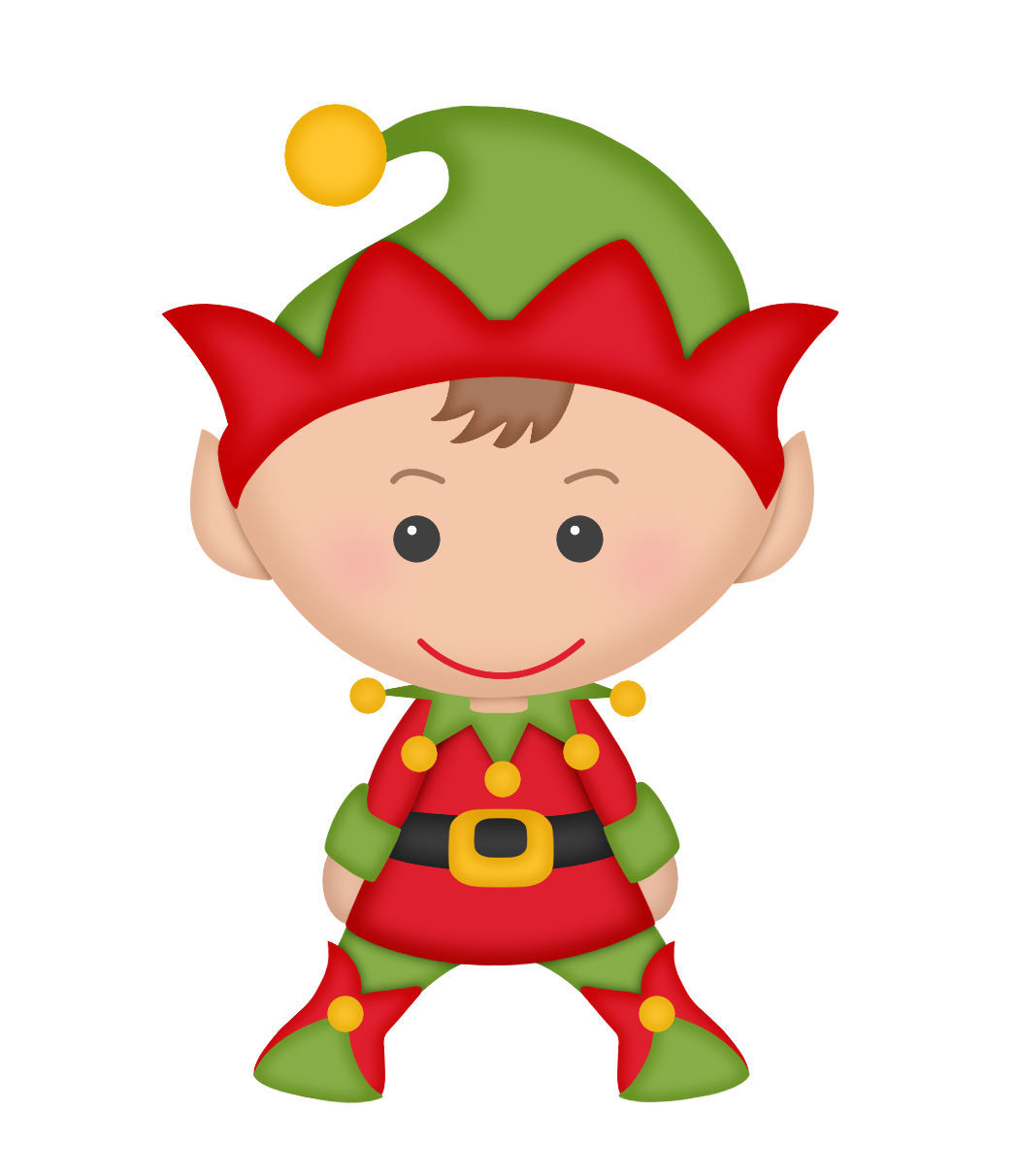Halloween elves clipart
