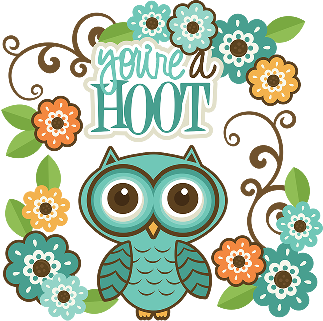 Cute christmas owl clipart. Owls hoot frames illustrations