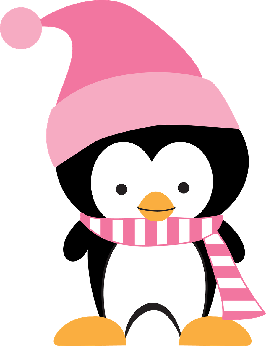 Cute christmas penguin clipart vector royalty free download Minus - Say Hello! | Penguins | Pinterest | Penguins, Clip art and ... vector royalty free download