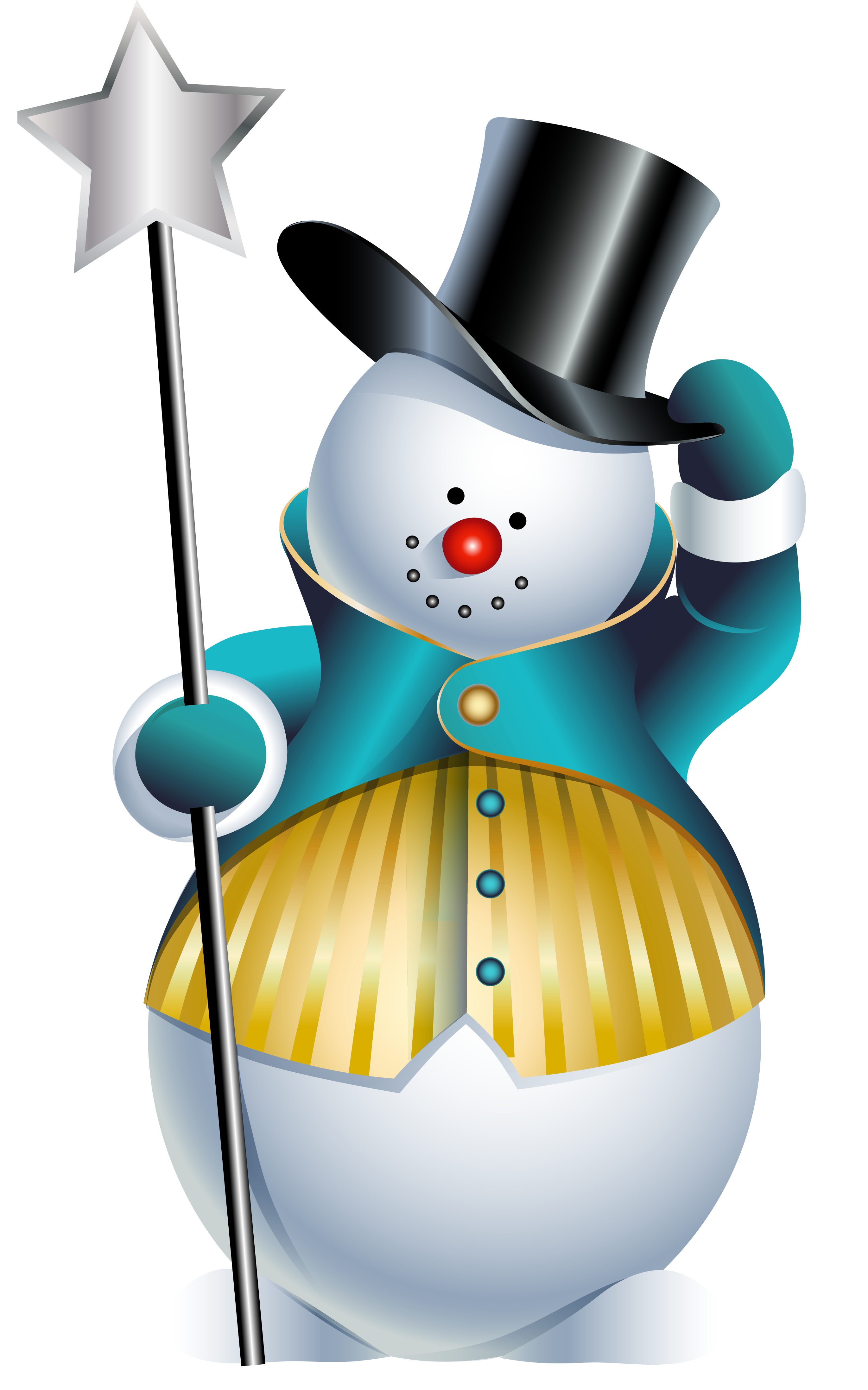 Cute christmas snowman clipart clipart royalty free Cute Snowman PNG Clipart Picture | Gallery Yopriceville - High ... clipart royalty free