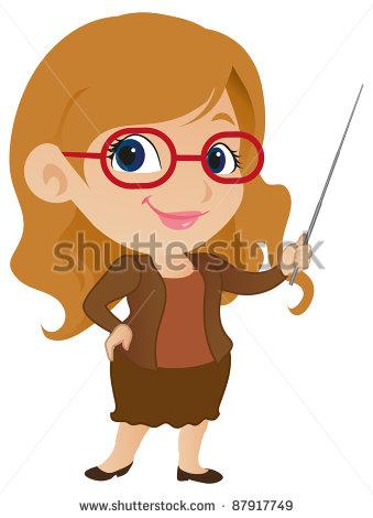 Cute clip art for teachers vector black and white download Cute Teacher Clipart - Clipart Kid vector black and white download