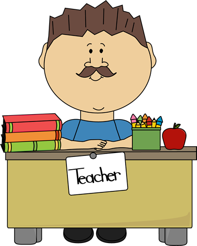Teacher images male. Cute clip art for teachers