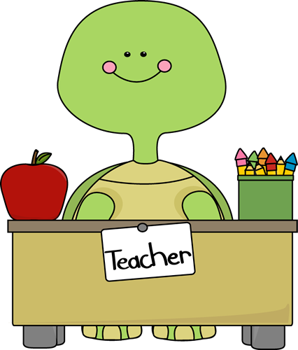 Cute clip art for teachers. Turtle images teacher