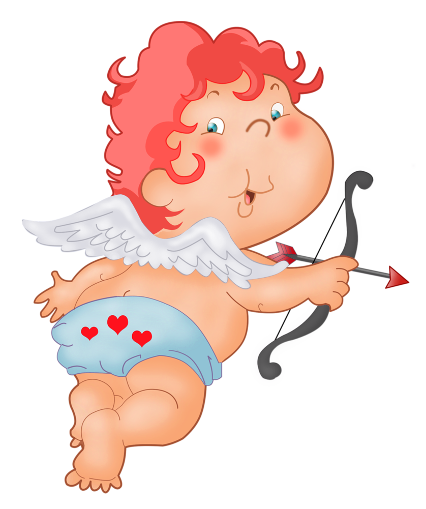 Cute clipart arrow jpg freeuse download Cute Cupid PNG Clipart Image | backgrounds, clipart, images etc ... jpg freeuse download
