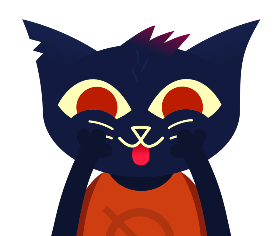 Cute clipart cat face clip art free download Mae Borowski from NITW with cute face by TimsManter on DeviantArt clip art free download