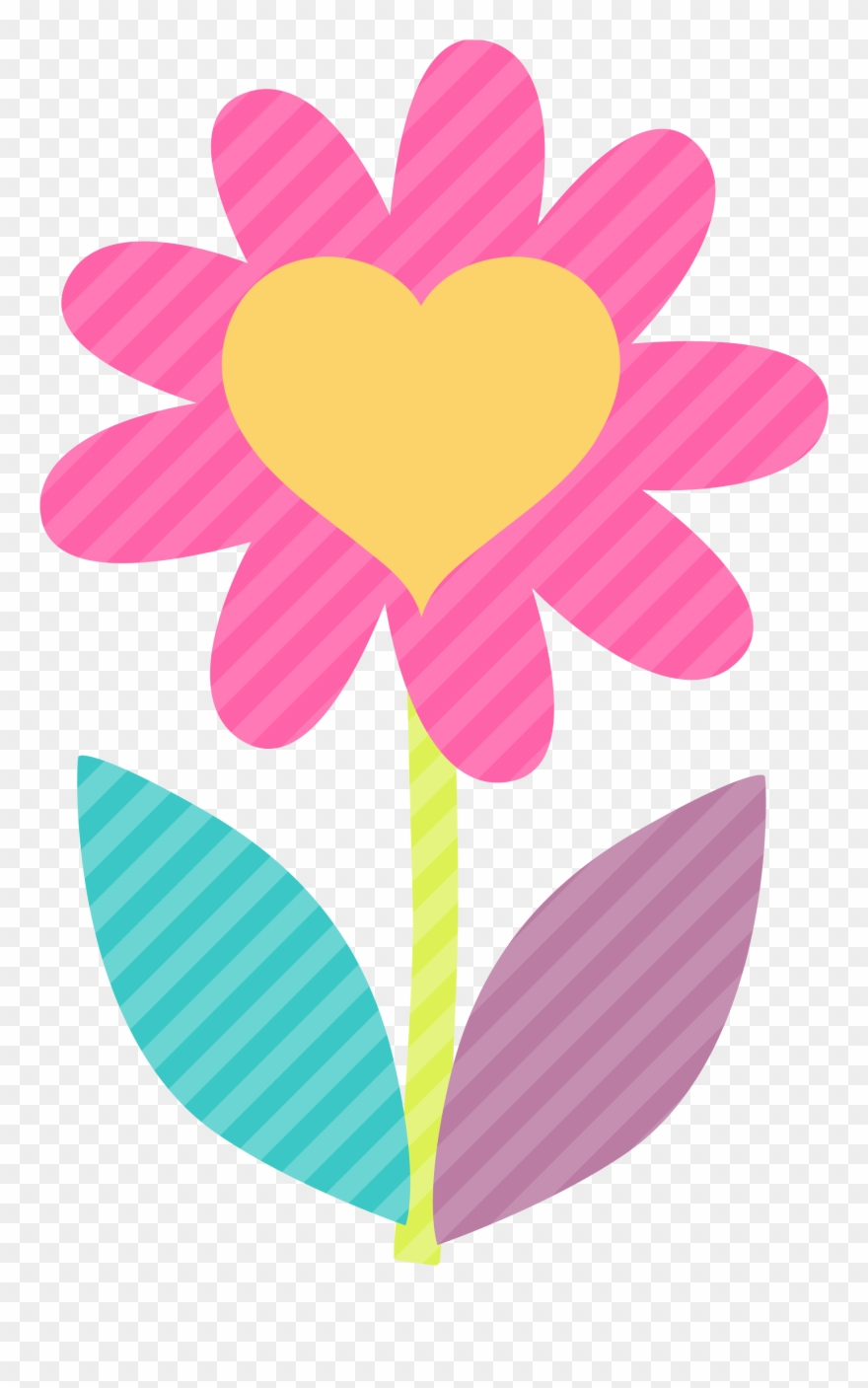 Cute clipart flowers picture free download Clipart Flower Spa - Cute Flower Clipart Png Transparent Png (#21895 ... picture free download