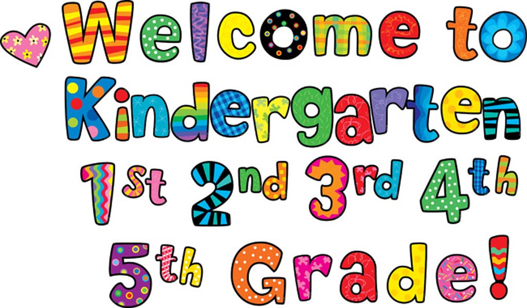 Cute clipart for kindergarten clip free library Cute welcome to kindergarten clipart - ClipartFox clip free library
