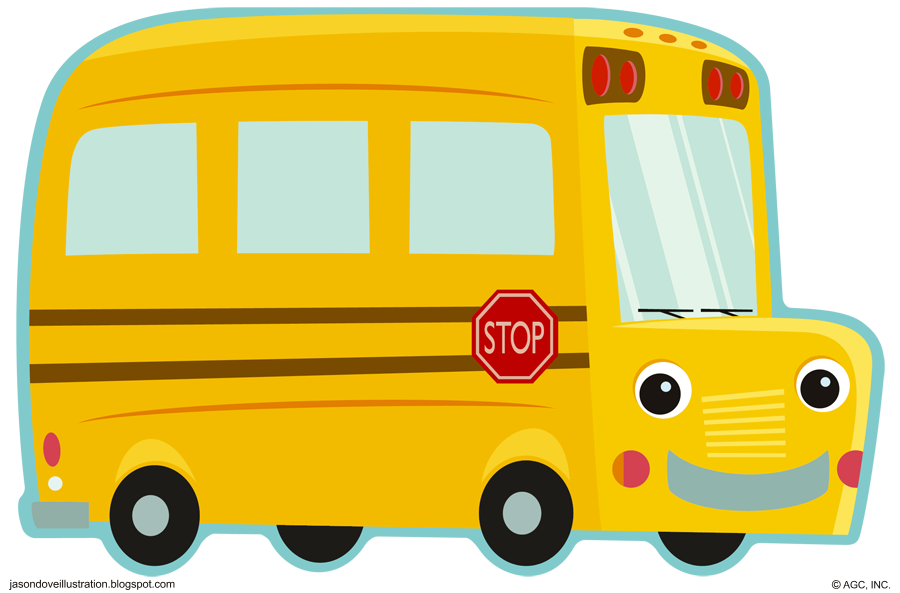School bus clipart for kids jpg royalty free Bus Clipart Cute & Bus Clip Art Cute Images #1620 - OnClipart jpg royalty free