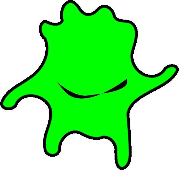 Cute clipart star. Happy green algae clip