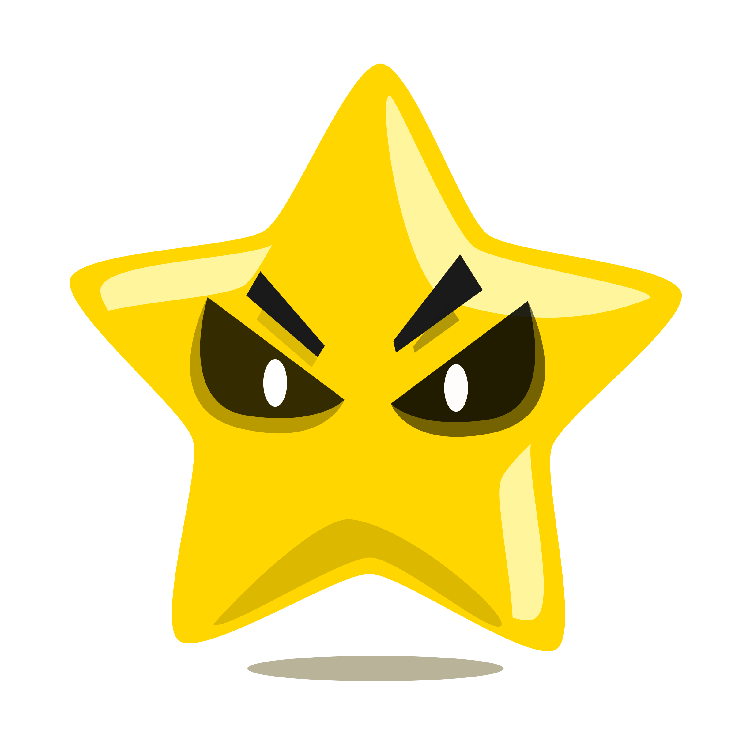 Cute clipart star clip art royalty free library Clipart - Evil Star character cute clip art royalty free library