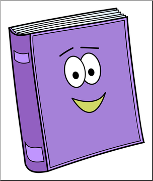 Cute color cliparts picture royalty free Clip Art: Cute Book 1 Color 2 I abcteach.com | abcteach picture royalty free